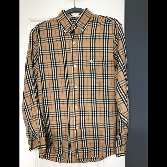 68c00065fc51 Burberry Other - Burberry M designer nova check vintage shirt